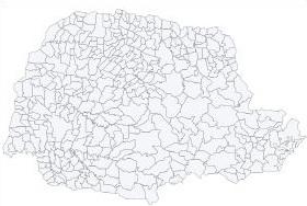 Mapa do Paraná
