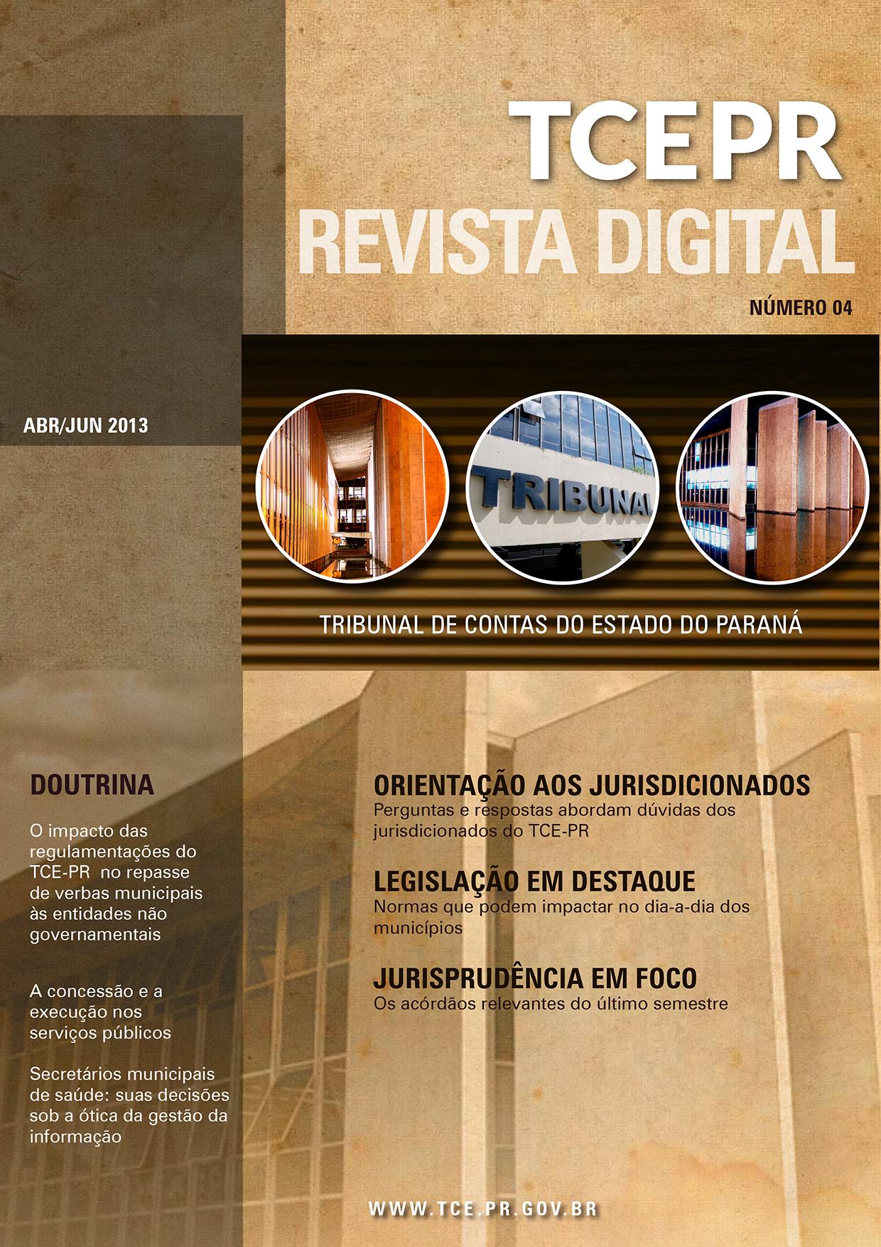Revista Digital do TCEPR - número 4