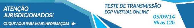 Teste EGP Virtual - fixo