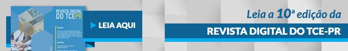 Banner Revista Digital TCE-PR n� 10