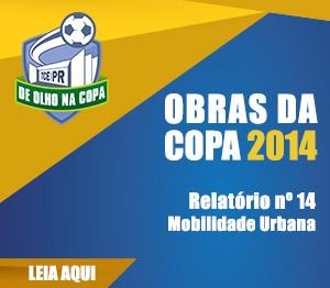 Banner Obras da Copa 2014