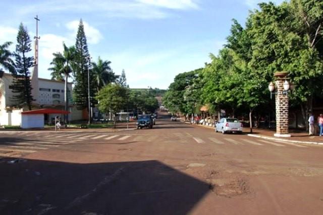 Região central de Kaloré, município da região Nort ...