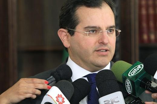O presidente do TCE-PR, conselheiro Ivan Bonilha, ...