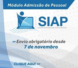 Banner SIAP Admissão rotativo