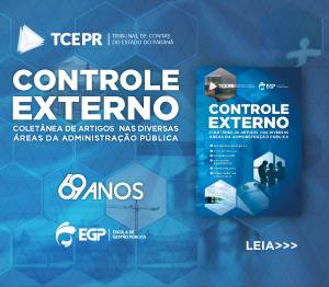 Banner livro Controle Externo rotativo