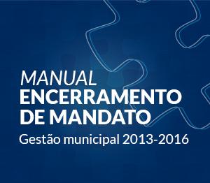 banner manual de encerramento de mandato rotativo