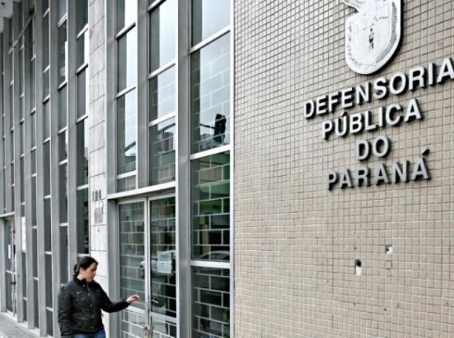Sede da Defensoria Pública do Estado do Paraná, em ...