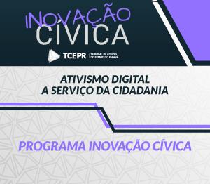 Programa de Inovação Cívica - banner rotativo