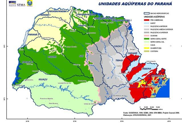 Suspensa licitação do Instituto das Águas do Paraná para a perfuração de poços