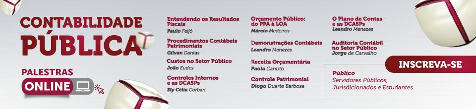 Banner 1ª Semana Contabilidade Pública