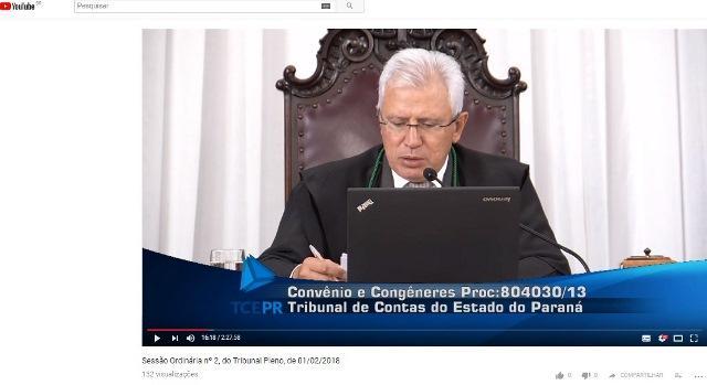 O presidente, conselheiro Durval Amaral, conduz se ...