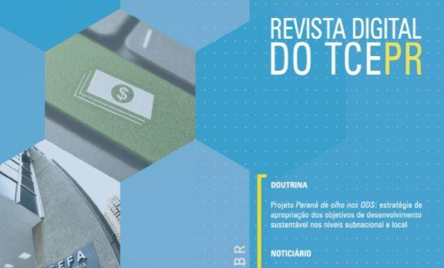 Implantação dos ODS no Paraná é destaque na 20ª Revista Digital do TCE-PR