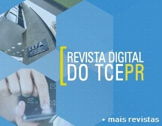 Banner Revista Digital TCEPR - Box Revistas