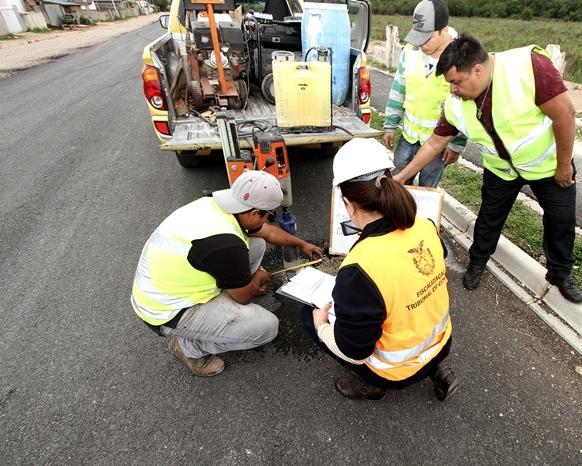 Nesta segunda, TCE-PR volta a fiscalizar a qualidade de obras de asfalto no Paraná