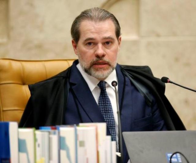 O ministro Dias Toffoli, presidente do Supremo Tri ...