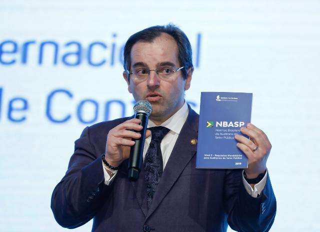 IRB lança NBasp 3 no 1º Congresso Internacional dos Tribunais de Contas, em Foz