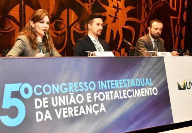 TCE-PR mostra sua atuação em evento da União dos Vereadores do Paraná