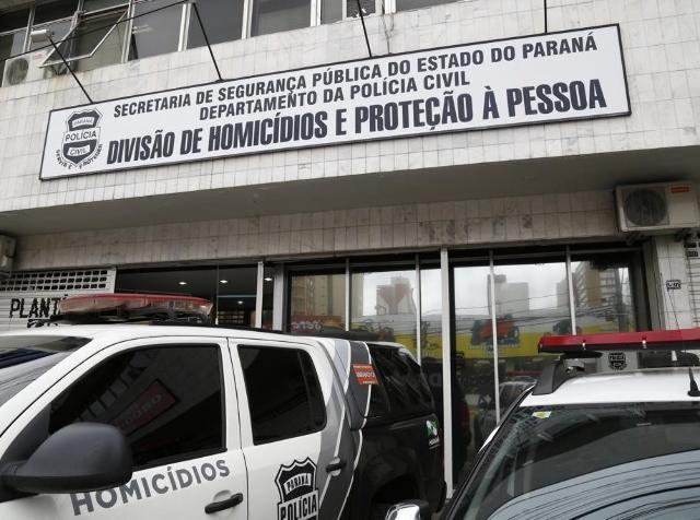 Delegacia de Homicídios da Polícia Civil em Curiti ...