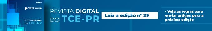 Revista Digital do TCE-PR Edição 29 - Banner fixo