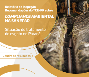 Banner Compliance Ambiental na Sanepar - rotativo