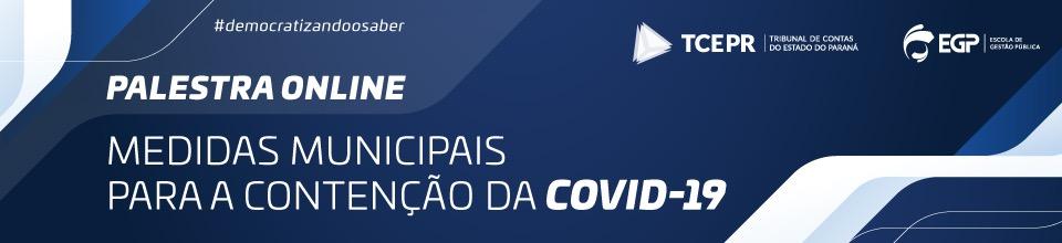 Online Banner da Covid-19