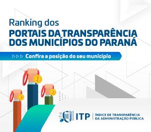 Banner ITP Portais da Transparência - Rotativo