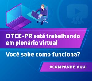 Banner Plenário virtual rotativo