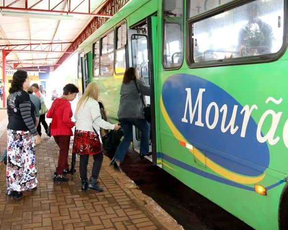 Sistema de transporte coletivo urbano de Campo Mou ...