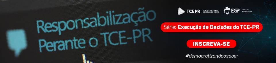 Online Banner Responsabilização perante o TCE-PR