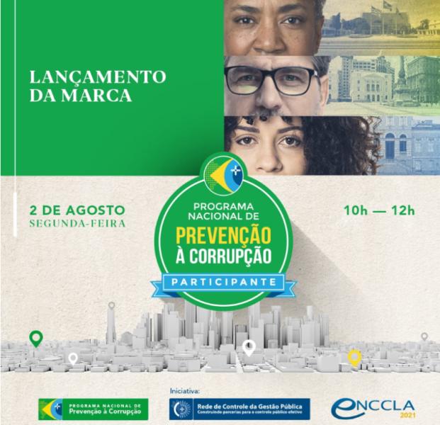 Programa de Prevenção à Corrupção fará live na segunda
