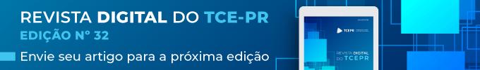 Revista Digital do TCE-PR Edição 32 - Banner fixo